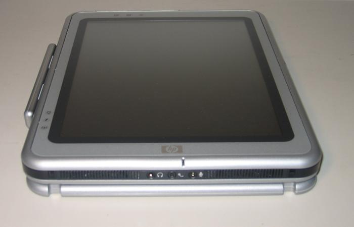 tc1100 in Tablet Mode