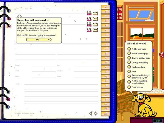 Address Book в MS Bob