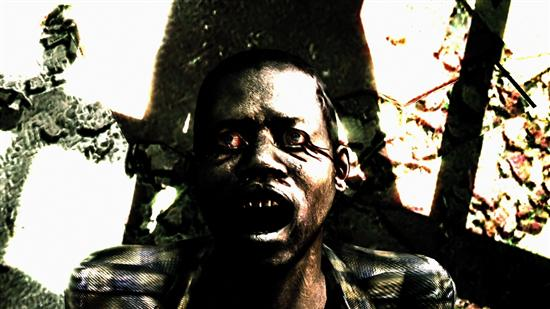 Anticipation for Resident Evil 5 may cause dryness of the throat and bleeding from the eyes.