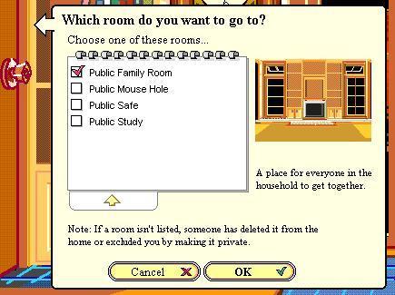 Давайте зайдём в другую комнату