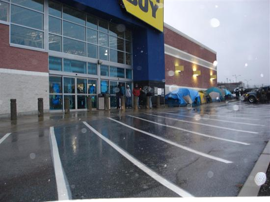 Tents at Best Buy?