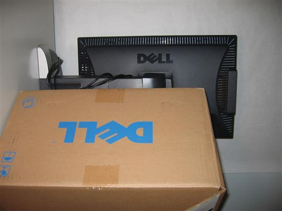 Box and 2405FPW Monitor