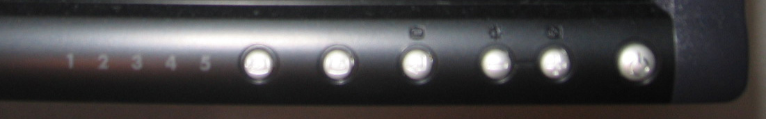 Display Controls for the 2405FPW